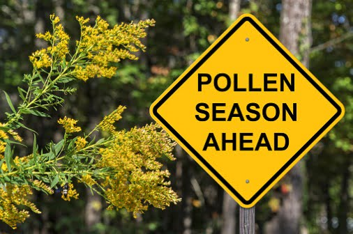 Bring on the blooming flowers and seasonal allergies – it's spring!